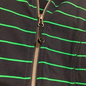 lululemon athletica Tops - Lululemon size 4 nice asana jacket zip up stripe